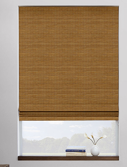 Waterfall Woven Shade in Tahoe Oak, The Shade Store