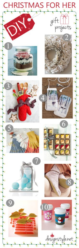 diy christmas gift ideas for her him designstyle