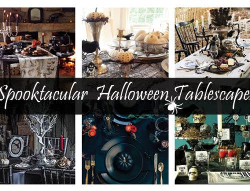 Spooktacular Halloween Tablescapes