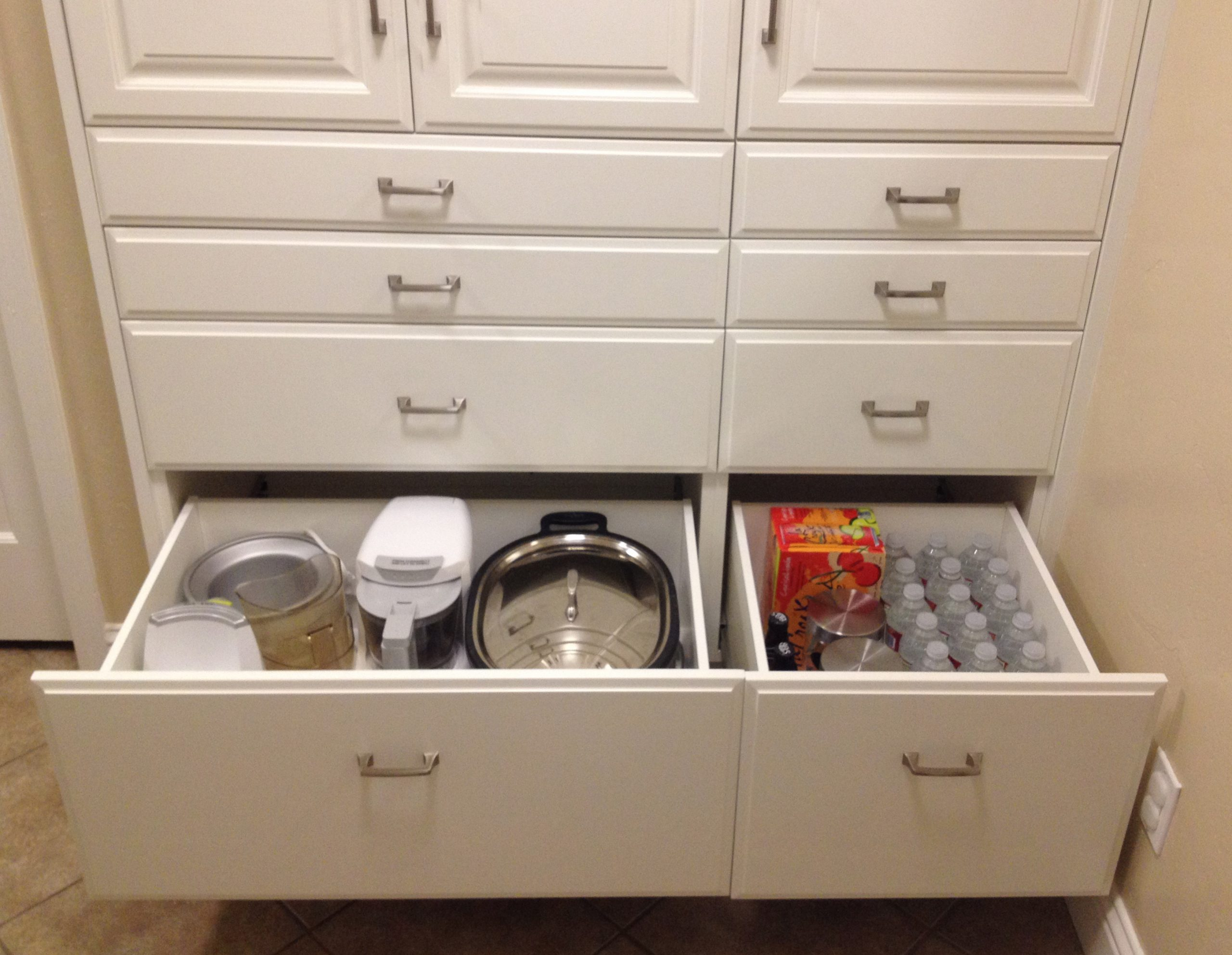Pantry Cabinet: Pantry Cabinet Drawers with Creating An Organized ...