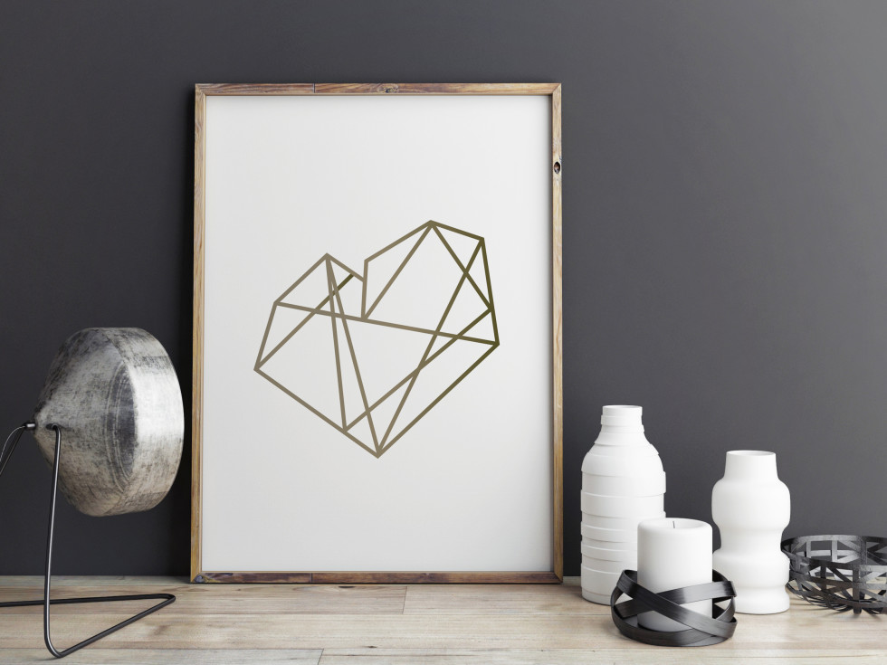 Art_Geometric_Heart_Gold_8x10_mockup3