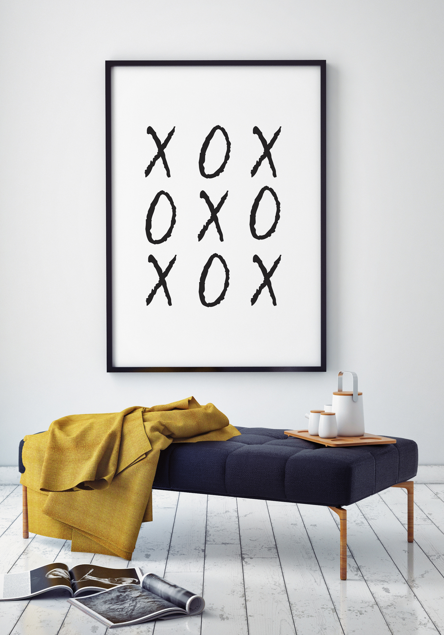 XO Print, by DesignStylePrints on Etsy